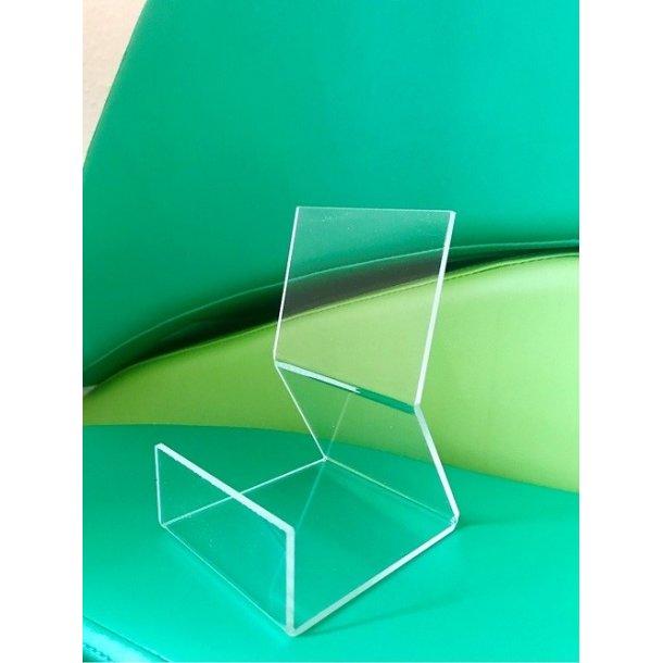Bogholder i akryl (B:8 cm H:13 cm D:9,5cm)