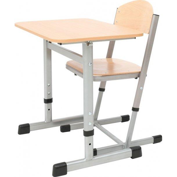 Enkelmandsbord med stol H: 76 cm - Sætpris