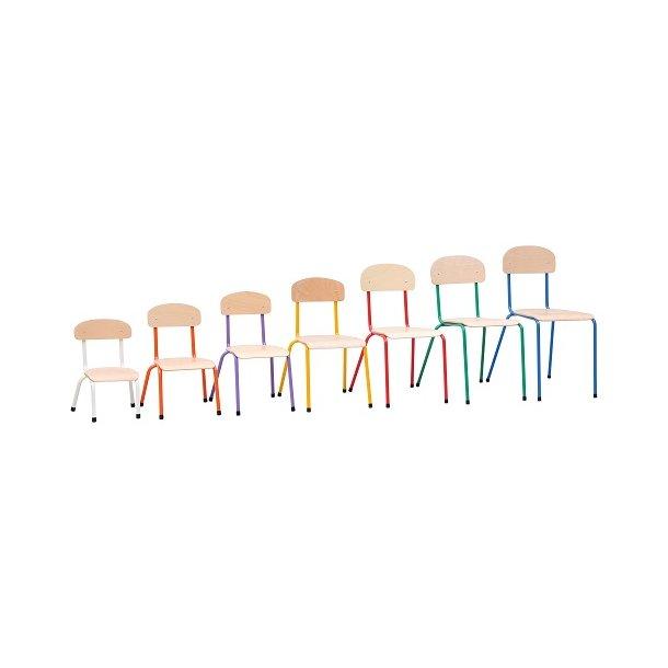 Bibshop stol, Vælg farve og størrelse