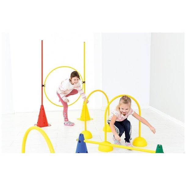 Udendørs legetøj: Gymnastik- og legesæt