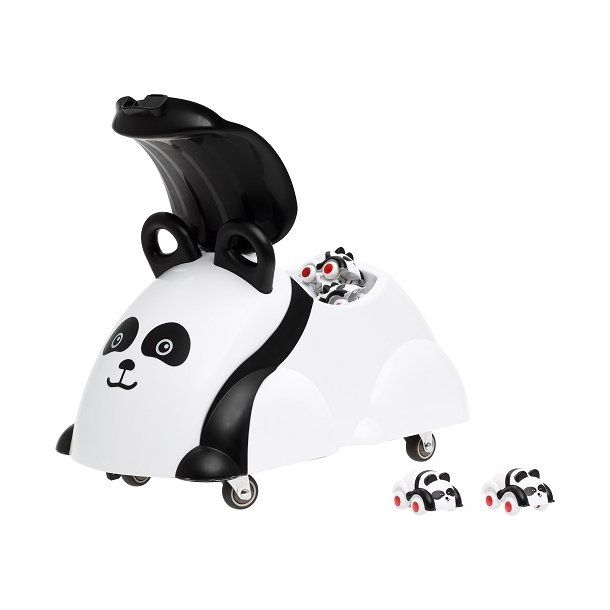 Legebil til børn - Panda eller Bjørn på hjul